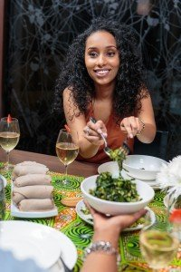 Blackfoodie dinner Party