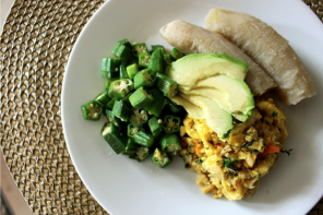 Banana, Ackee and Salt fish- A Paleo/Candida Diet Remix