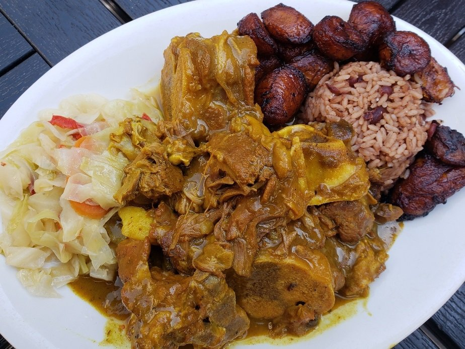 JaGrill Curry Goat