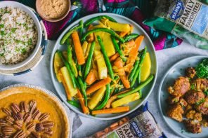 A Black Foodie Vegetarian Feast