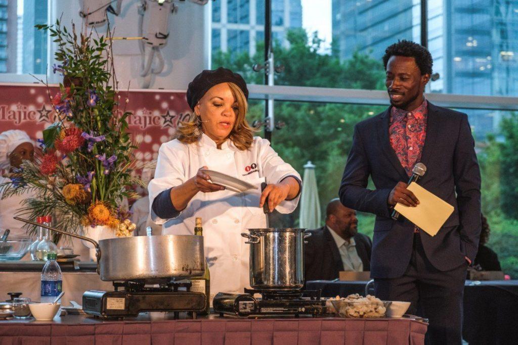 Nosh Culinary Showcase Houston Chef Cynthia Ferrell Sample 1
